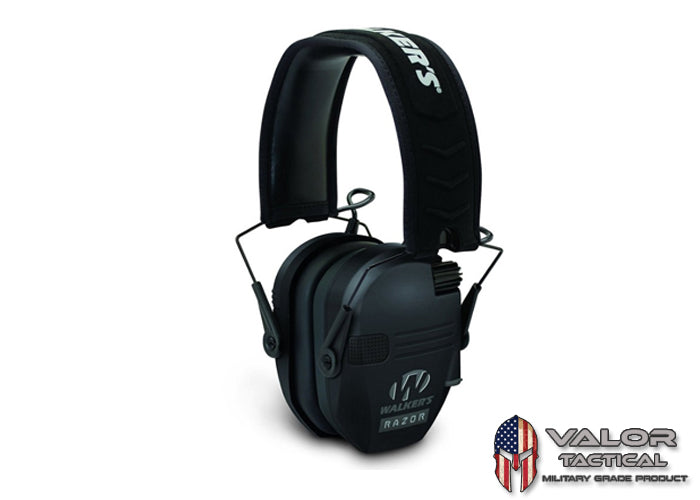 Walker - Razor Slim Electronic Muffs [ Black ]