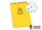 Rite In The Rain - [ Universal ] 4x6 Top Spiral with Polydura Cover Notebook [ Yellow ]