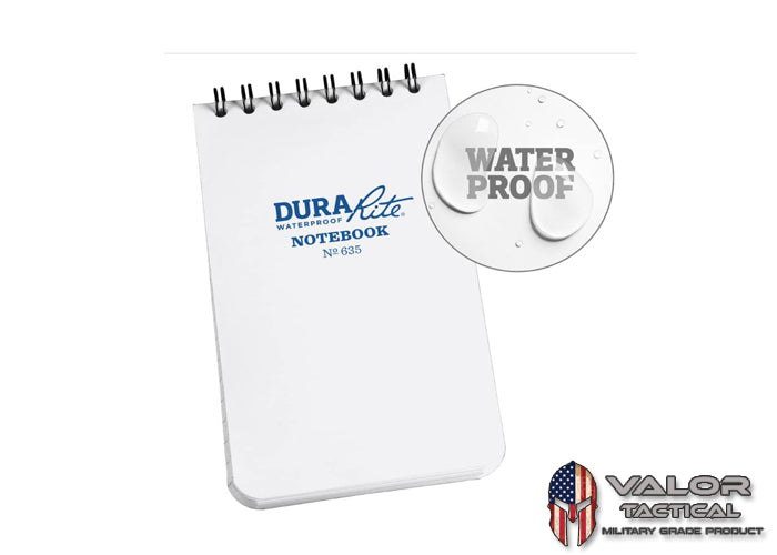 Rite In The Rain - Durarite 3x5 Notebook [ White ]
