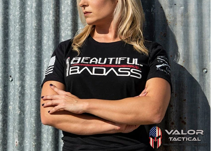 Grunt Style - Women's Beautiful Badass Tee