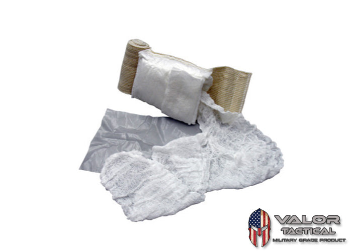 "Tactical Medical Solution - 4"" Olaes Modular Bandage Flat Packed"