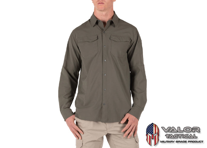 5.11 Tactical - Freedom Flex Long Sleeve Shirt [Ranger Green  186]