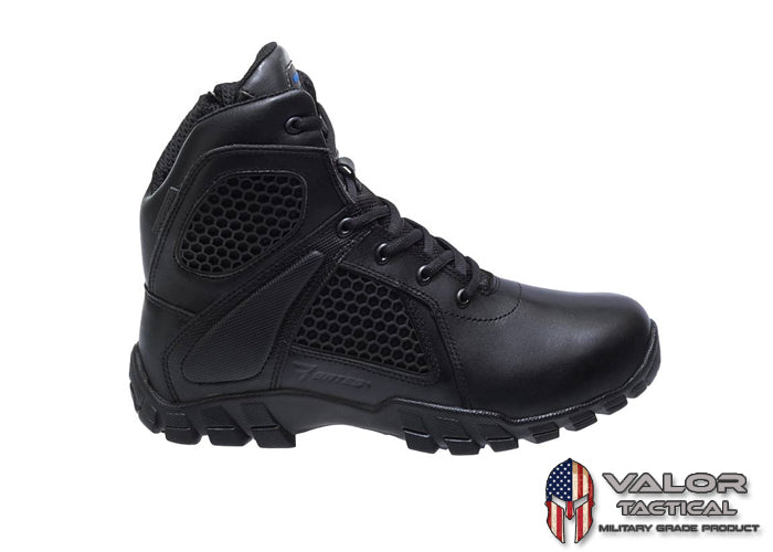 "Bates - Men's Shock 6"" Side Zip [ Black ]"