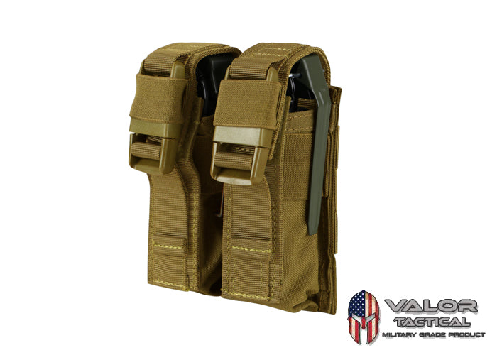 Condor -  Double Flashbang Pouch [ Coyote ]