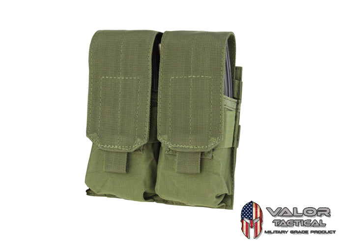 Condor -  Double M4 MAG Pouch [ OD Green ]