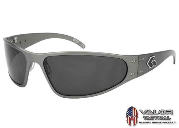 Gatorz Wraptor Gun Metal Frame / Smoked Polarized lens