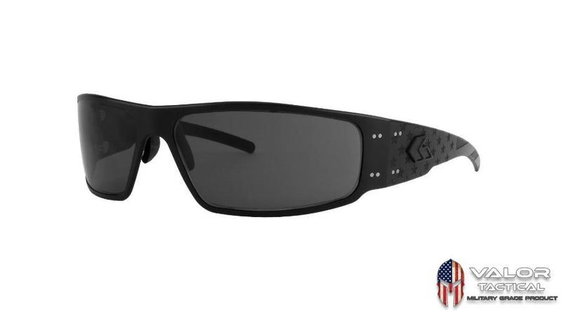 Gatorz - Magnum Matte Black Battleworn Limited 30yr Edition Smoked Polarized Lens