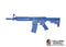 Blue Guns - M4 Commando Flat Top with Foward Rail,Close Stock