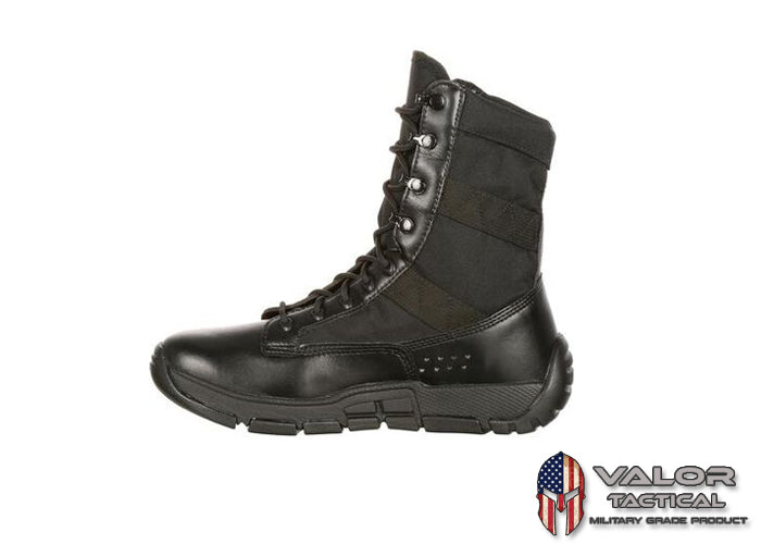 Rocky - C4T Military Insired Public Service Boot [ Black ]