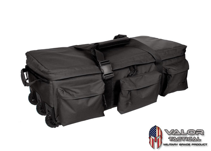 S.O.C. - Rolling Loadout Bag [Black]