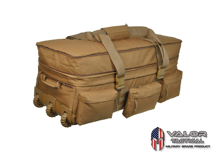 S.O.C. - Rolling Loadout Bag [Coyote Brown]
