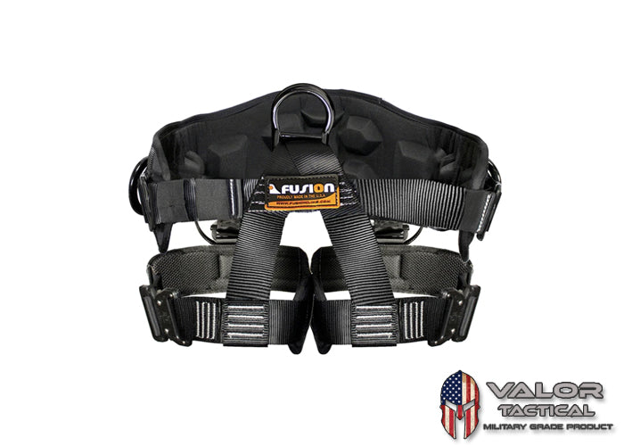 Fusion - SPARTACUS HALF BODY HARNESS FOR 603 [ Black | S/M Size]