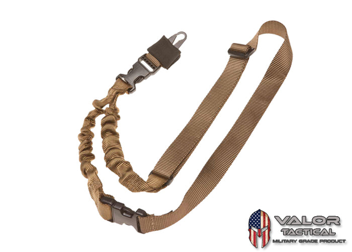 Tac Shield - Shock Sling II Single Point Bungee [ Coyote ]