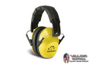 Walker - Pro-Low Profile Folding Earmuffs [ Yellow ]