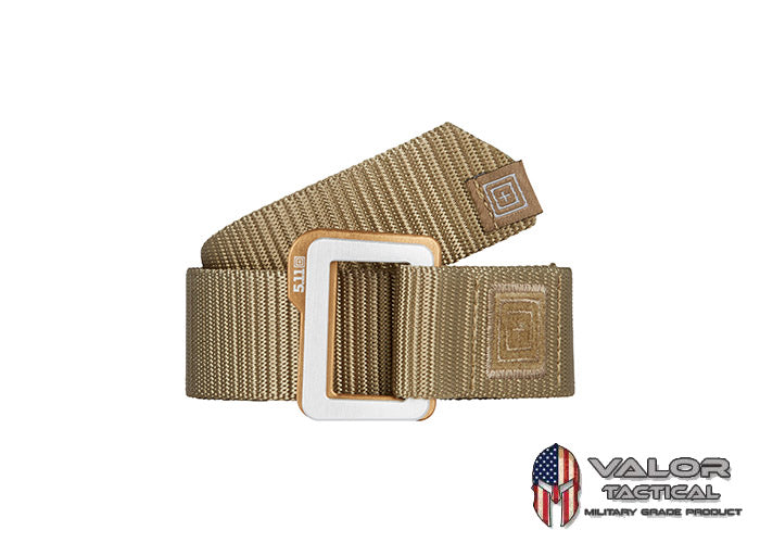5.11 Tactical - TRAVERSE™ DOUBLE BUCKLE BELT [SANDSTONE 328]