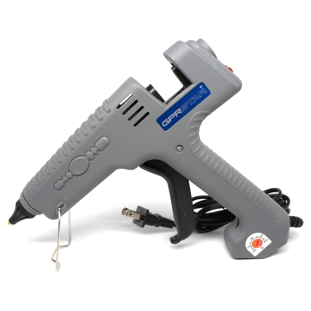 GPR Star 300 Watt US Plug Adjustable Temperature Corded Glue Gun (410-6066)