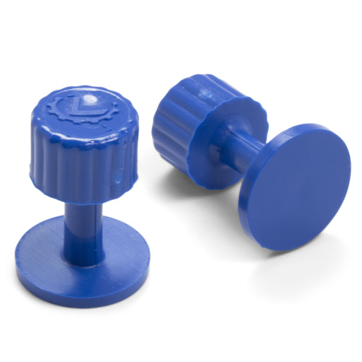 Dead Center® 15 mm Blue Smooth Finishing Glue Tabs (10 Pack)