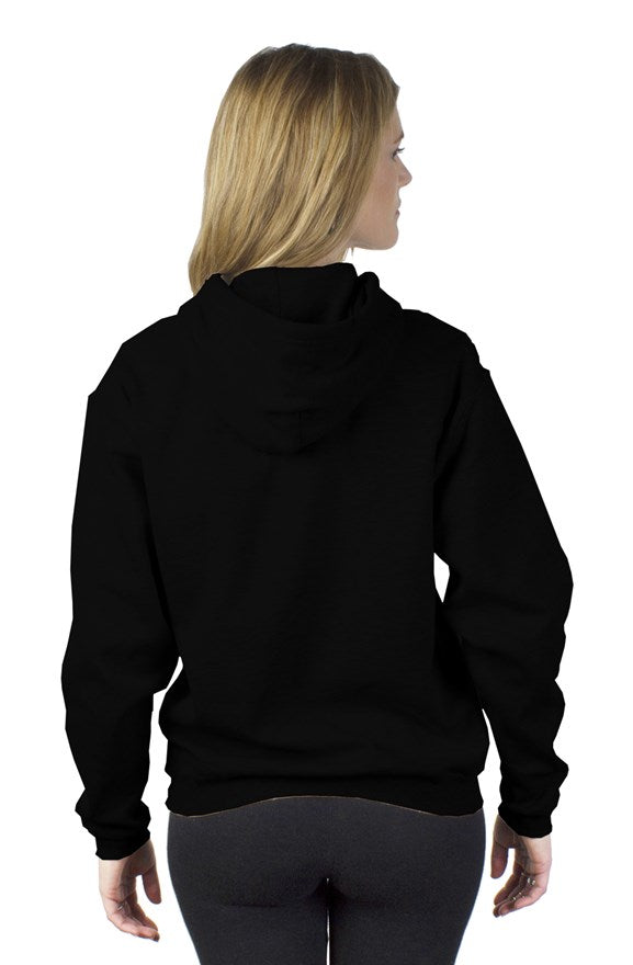 PT Work Out Her Way Hoodies Black/ white design