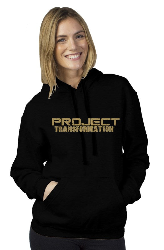 PT Work Out Her Way Hoodies Black/ gold design