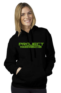PT Work Out Her Way Hoodies Black/ green design