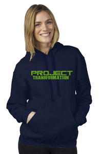 PT Work Out Her Way Hoodies Navy/ green design