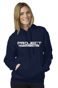 PT Work Out Her Way Hoodies Navy/ White design
