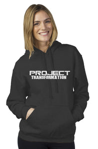 PT Work Out Her Way Hoodies Charcoal Gray/ White design