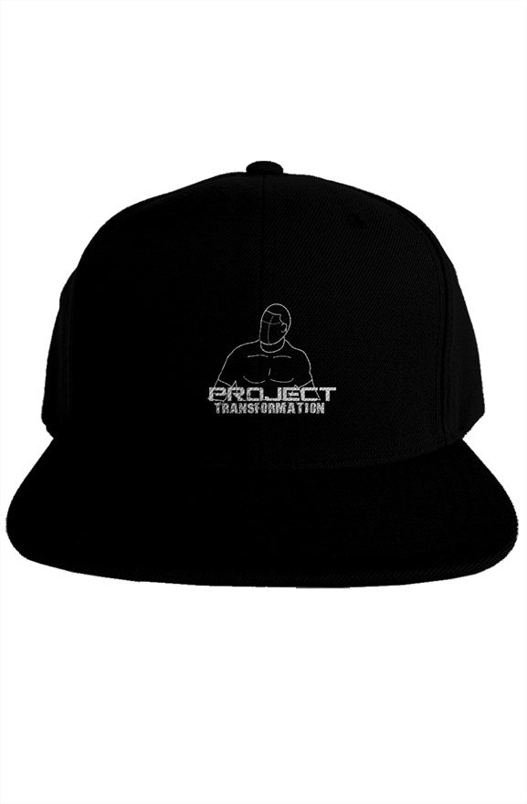 PT Work Out Premium Snapback black/white design