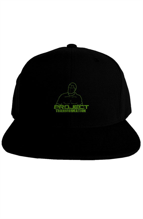 PT Work Out Premium Snapback Dark Gray/ green design