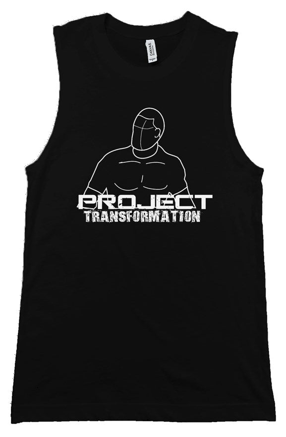PT Work Out Muscle Tank Black/white design