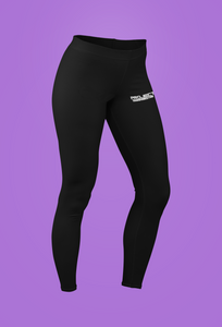 PT  Her Way Leggings Black Horizontal White design