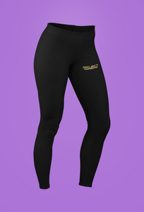 PT  Her Way Leggings Black Horizontal gold  design