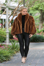 Load image into Gallery viewer, Scanglow Mink Jacket