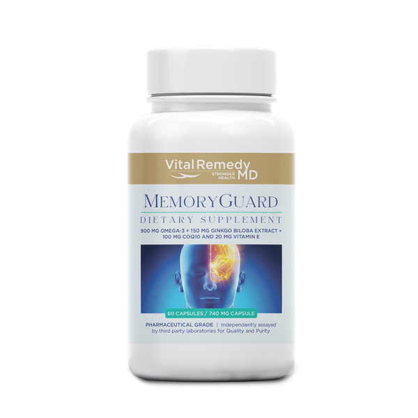 NEW! MemoryGuard - for a normal brain function