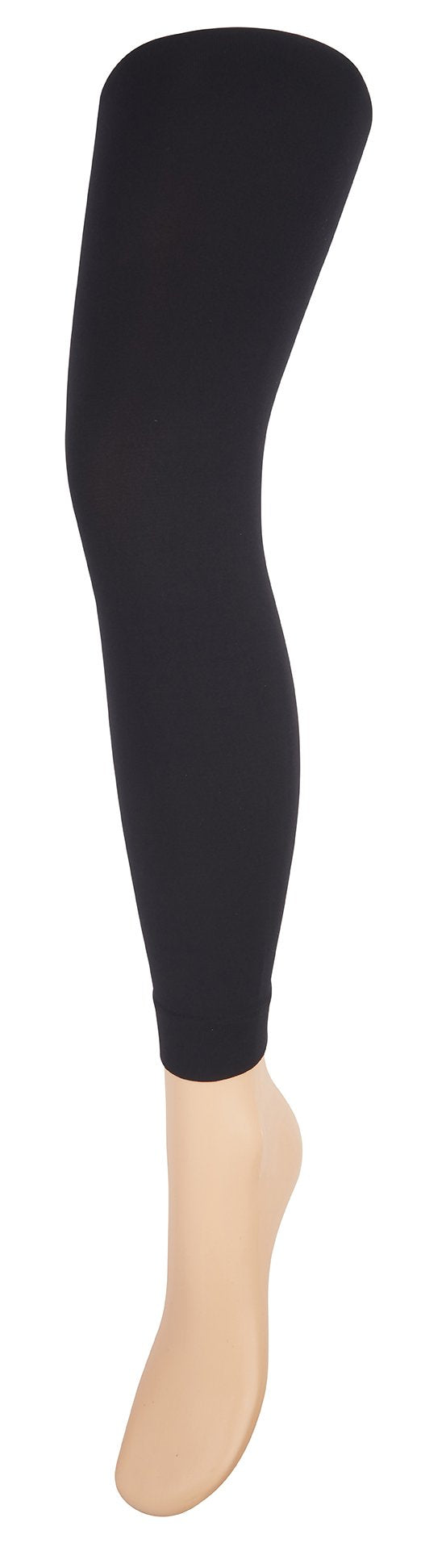 ELLE Anticellulite Black Opaque Leggings