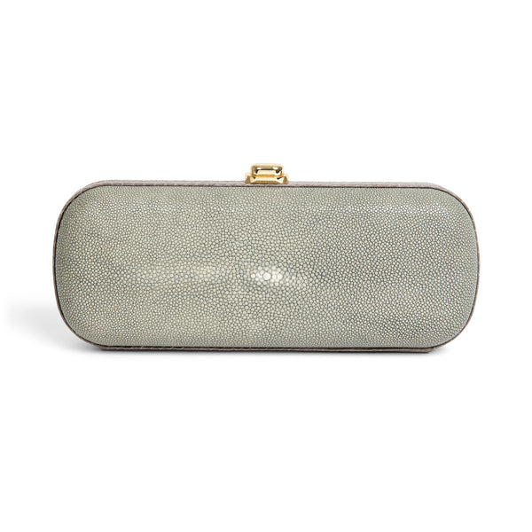 Grey Stingray Clutch