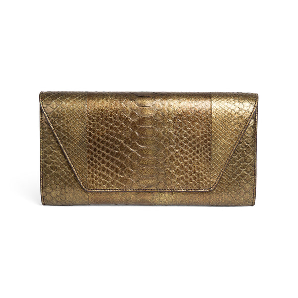 Burnt Gold Tribeca Envelope