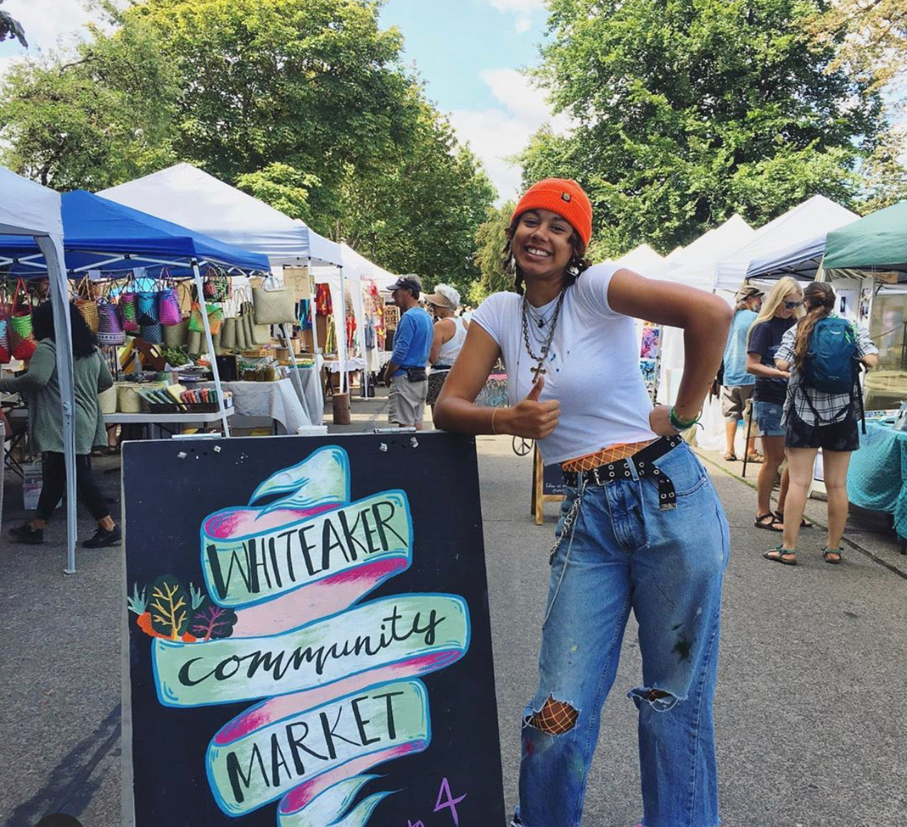 The Whiteaker Market and supporting BIPOC in our community