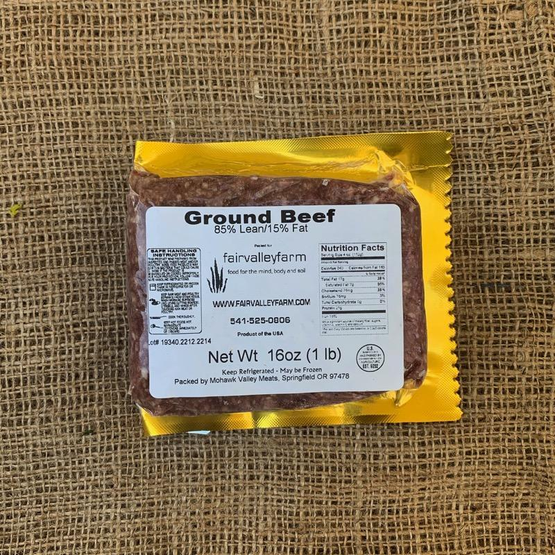 Ground beef | 1 lb.