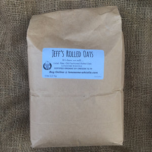 Jeff's Rolled Oats