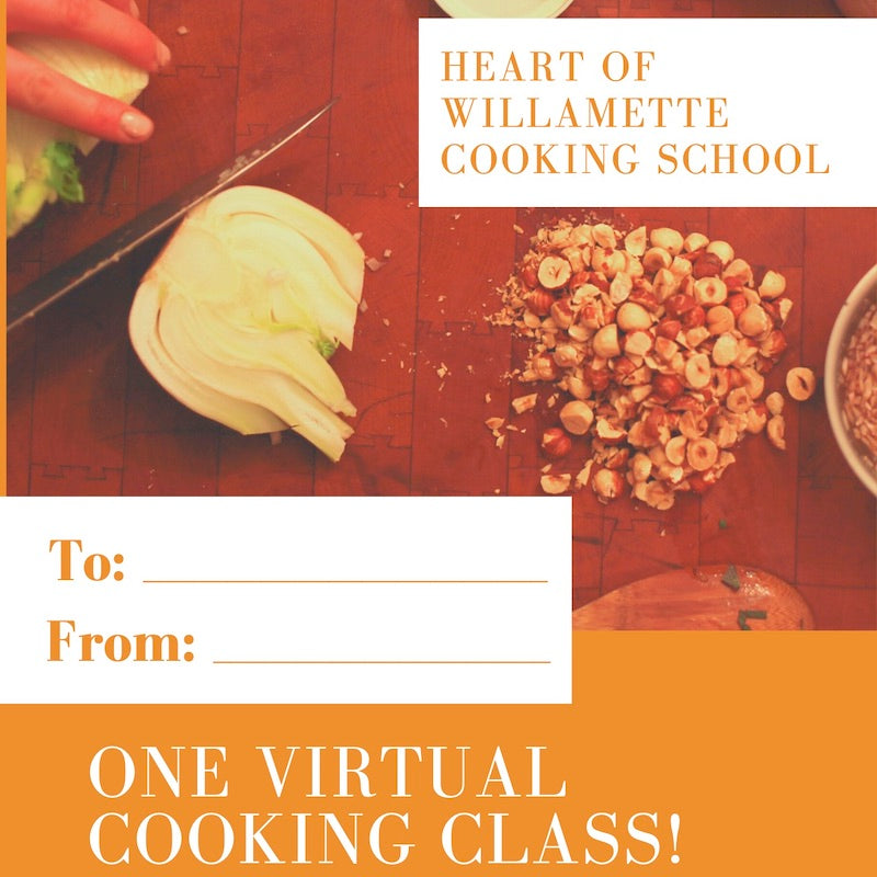 H.o.W. Cooking School Gift Card