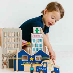 Happy Architect – Emergency Set - Behind The Trees Wooden Toys