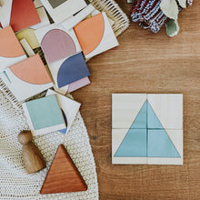 Load image into Gallery viewer, Shape Puzzle // November Delivery - Behind The Trees Wooden Toys