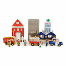 Load image into Gallery viewer, Happy Architect – Emergency Set - Behind The Trees Wooden Toys