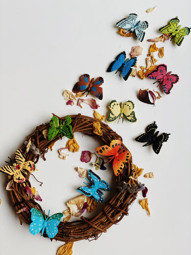Bag of Mini Butterflies - Behind The Trees Wooden Toys
