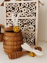 Load image into Gallery viewer, Wooden Honey Pot - Behind The Trees Wooden Toys