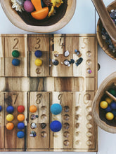 Load image into Gallery viewer, Natural Counting board - Behind The Trees Wooden Toys