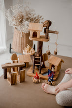Load image into Gallery viewer, Gnome Village Play Set - Behind The Trees Wooden Toys