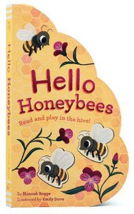 Hello Honeybees // Read and play in the hive! - Behind The Trees Wooden Toys