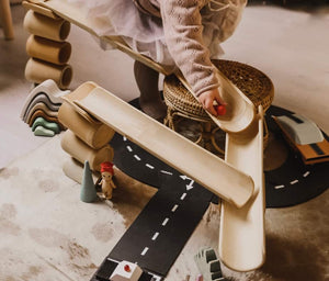 Bamboo Construct & Roll // Early Nov Delivery - Behind The Trees Wooden Toys